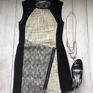 Rachel Roy black sheath dress